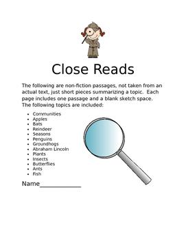 Close Reads