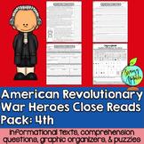 American Revolution, Revolutionary War, Leveled Passages 4