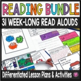 Read Aloud Book Activities Year Long Bundle with Lesson Plans and Activities