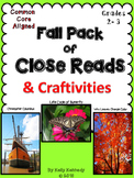 Close Reads and Craftivities Grades 2-3