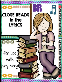 Close Reads in the Lyrics for Any Song