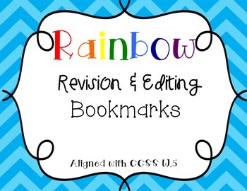 Close Revision and Editing Bookmark