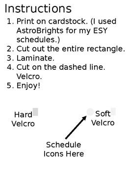 Close Schedule Template