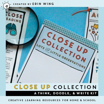 Close Up: A Think, Doodle and Write Kit