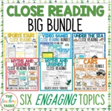 Close Up BIG BUNDLE - Close Reading Comprehension/Higher O