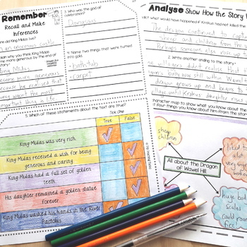 Reading Comprehension Passages and Questions BIG BUNDLE