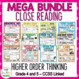 Close Up MEGA BUNDLE - Close Reading/Higher Order Thinking