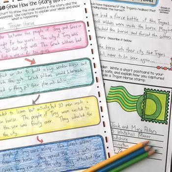 Close Reading Comprehension Passages and Questions Mega Bundle