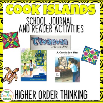 Cook Islands Close Up Reading Comprehension Journal and Reader Activities (NZ)