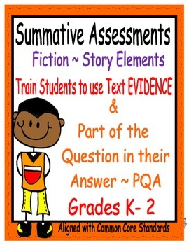 Story Elements Assessments K - 2