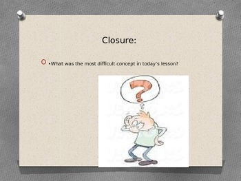 Close reading mini lesson number 4, 3rd grade