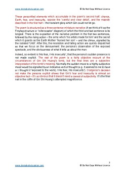 Close reading notes - analysis of Oodgeroo, 'Entombed Warriors'