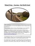 Close reading notes - analysis of Robert Gray, 'Journey -