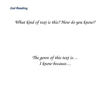 Close reading question slides for The Signmaker's Assistant