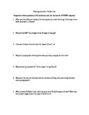 Close reading questions