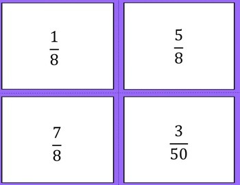 Fraction Sort Activity { Math Center }