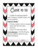 Close to 50 - A Math Game for Number Strings and Missing Addends