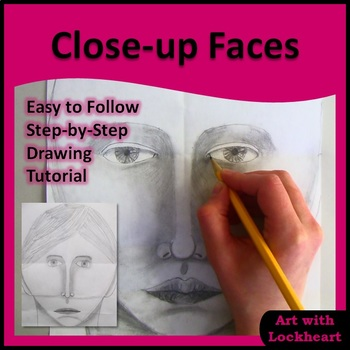 Close-up Faces Drawing Tutorial