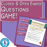 Closed & Open Ended Questions