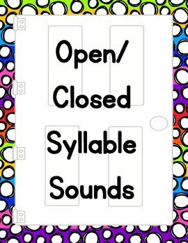 Closed/Open Syllable Doors