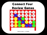 Closed, Open, VCE, Consonant -le, R-Controlled, and Vowel Team - Connect 4 Games