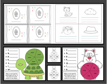 Closed Syllable [Vowel] Bundle Packet