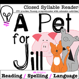 Closed Syllable CVC Reader w Comprehension  Enrichment Activities 3