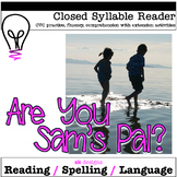 Closed Syllable CVC Reader w Comprehension  Enrichment Activities - 4