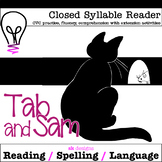 Closed Syllable CVC Reader w Comprehension and Enrichment Activities 2