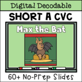 Closed Syllable Digital Decodable Story with Short A CVC Words