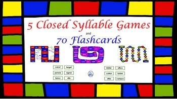 Closed Syllable Games