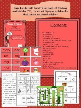 Closed Syllable Level One Bundle