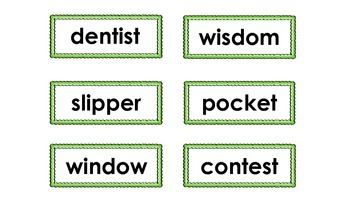 Closed Syllable Mini-Match