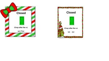 Closed Syllable Ornaments