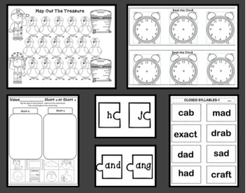 15 Games and Activities Teaching Closed Syllables With Multiple CVC Word Forms