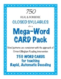 Closed Syllable Word Cards: A Resource for the Orton-Gillingham Tutor