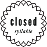 Closed Syllable Word List