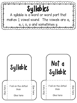 Closed Syllables Interactive Notebook- FREE SAMPLE!