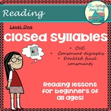 Closed Syllables  Teaching Packet