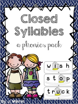 Closed Syllables Made Simple (a phonics pack)