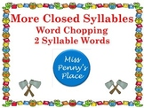 Closed Syllables Set 2