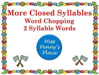Closed Syllables Set 2
