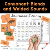 Closed Syllables with Blends  (Level Two Teaching Packet)