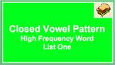 Closed Vowel Pattern Slideshow
