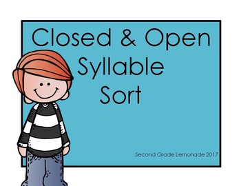 Closed and Open Syllable Sort