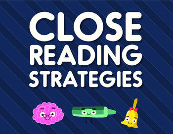 Closer Reading Strategy Posters