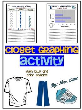 Closet Graphing Activity