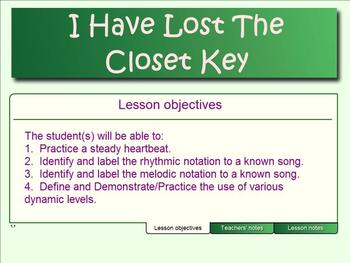 """Closet Key - (An Introduction To """"Re"""")"""