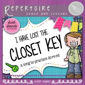 Closet Key {Mi Re Do Practice Pack}