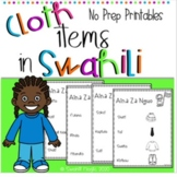 Learn Swahili: Clothing Items